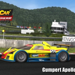 Gumpert Apollo @ Okayama Driver's View - Stock Car Extreme 60FPS