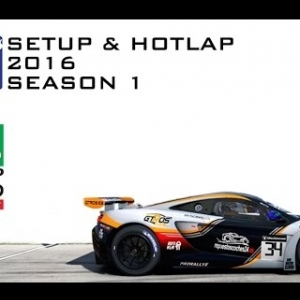 iRacing Mclaren MP4 12C GT3 @ Phillip Island | Setup & Hotlap 1'28.828 | Season 1 - 2016