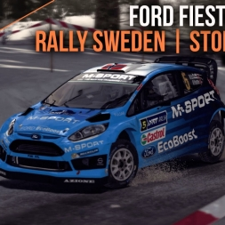 DiRT Rally | 2016 M-Sport Ford Fiesta RS WRC | Rally Sweden (60FPS)