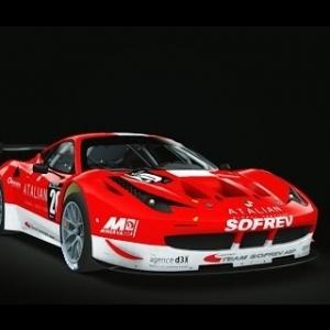 Assetto Corsa Ferrari 458 GT2 @ Nordschleife