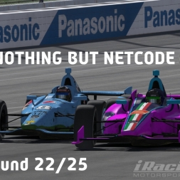 """iRacing: Nothing But Netcode"" (IndyCar Winter Series Round 22: Twin Ring Motegi)"