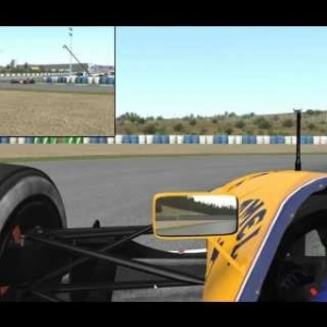 Rfactor 2 ASR Williams Renault FW14B V1.9RC @ Jerez