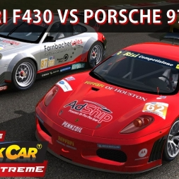 Stock Car Extreme - Ferrari F430 vs Porsche 997 Mod