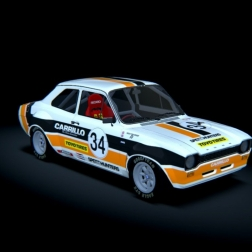 Assetto Corsa - Mk1 Ford Escort 1600 S1 @ Knockhill