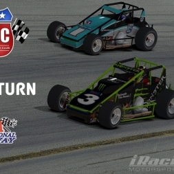 """iRacing: The Return"" (Sprint Cars at USA International Speedway - Night)"