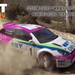 DiRT Rally - Ford Focus 2001 OMV Manfred Stohl