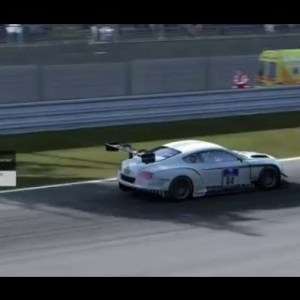Project CARS Multiplayer: Bentley Continental GT3 @ Brno [HD]