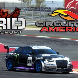 GRiD Autosport | Audi RS5 | Global Challenge Time Trail @ Circuit of the Americas National Invers