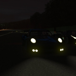 VEC - Busy roads of Spa 24 - slippery night - rFactor 2