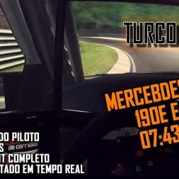Turco vs Nordschleife: Mercedez-Bens 190E Evo II
