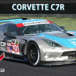 Assetto Corsa Gameplay (PC) - Corvette C7r @ Mugello | Corrida | Comentado | G27