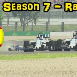 F1XL Season 7 Race Highlights - Round 13: Spain