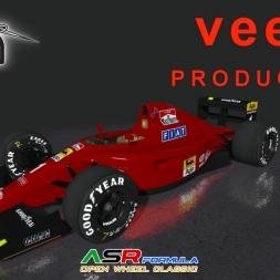 Rfactor 2 ASR Formula Ferrari 641/2 1990 V1.0 @ Sau Paulo