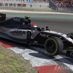 iRacing F1 at Nurburgring GP: Races 1 & 2 Highlights