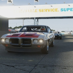 Forza Motorsport 6: Testing the Firebird with Drivatars