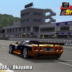 Mosler MT900R @ Okayama Driver's View - Stock Car Extreme 60FPS