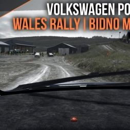 DiRT Rally | Volkswagen Polo R WRC at Bidno Moorland | Wales Rally