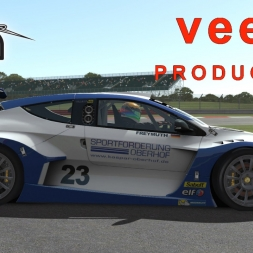 Rfactor 2 Build 1052 Renault Megane Trophy V1.02 @ Siverstone GT