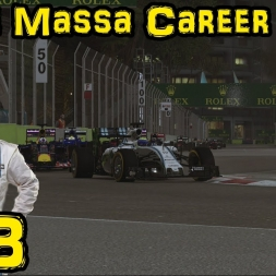 F1 2015 - Felipe Massa Career Mode - Ep 13: Singapore