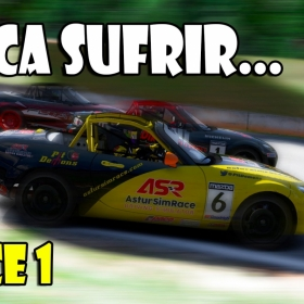 iRacing | Toca Sufrir... Race 1 (Advance MX-5 @ Road Atlanta)