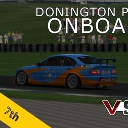 VSR ETCC 2015 | RACE07 | Donington Park R2 | Balazs Toldi OnBoard