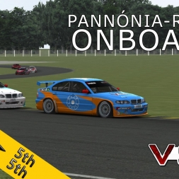 VSR ETCC 2015 | RACE07 |  Pannónia-Ring | Balazs Toldi OnBoard