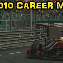F1 2010 Career - Race 6 - Monaco - You're Attacking A Virgin!