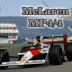 1988 Mclaren MP4/4 (v1.0) for Assetto Corsa out now [download]