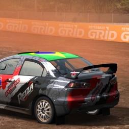AUTOMOBILISTA Lancer Evo X Rallycross at Foz