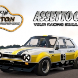 Assetto Corsa | Ford Escort RS 1600 @ Thruxton Motorsport Centre