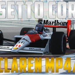 Assetto Corsa: McLaren MP4/4 @ Spa-Francorchamps