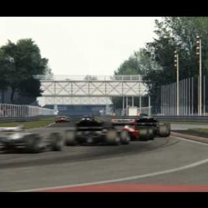 Legend F1 Cars in Monza (Assetto Corsa)