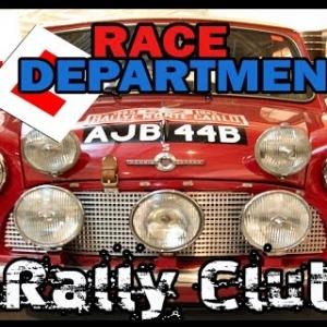 Race Department Dirt Rally Club - Beginners Event - Mini Cooper - SS2