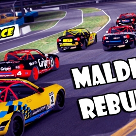 iRacing   Maldito Rebufo! SOF Race (Advance MX-5 Cup @ Daytona Bike)