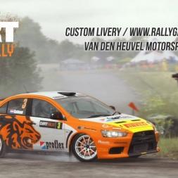 DiRT Rally - Mitsubishi Evo X - Van den Heuvel Motorsport (custom livery)