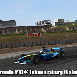 Formula V10 @ Johannesburg Historic - Automobilista Beta 60FPS