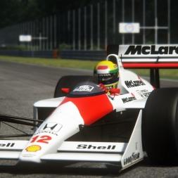 Assetto Corsa / 1988 Mclaren MP4/4 Car Mod / Monza 4k