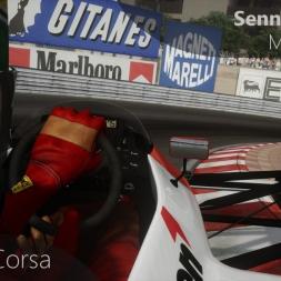 Assetto Corsa Senna Onboard Monaco 1988
