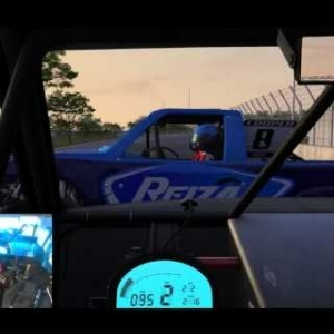 AUTOMOBILISTA BETA BUILD Supertrucks on Motion Sim