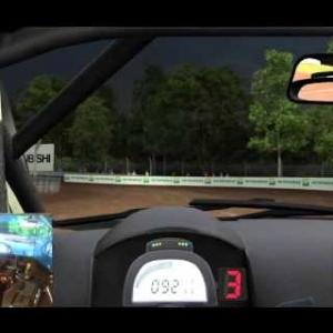 AUTOMOBILISTA BETA BUILD Lancer Rallycross on Motion Sim