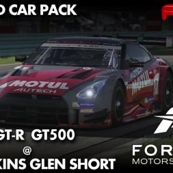 Forza Motorsport 6 | Nissan GT-R Super GT | Watkins Glen Short | Red Polo Car Park DLC