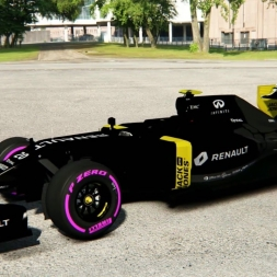 F1 2016 Livery Test Renault Sport RS16 Assetto Corsa 2016 Mod #1
