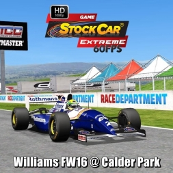 Williams FW16 @ Calder Park Driver's View - Stock Car Extreme 60FPS