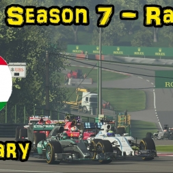 F1XL Season 7 Race Highlights - Round 14: Hungary