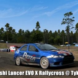 Mitsubishi Lancer EVO X Rallycross @ Tykki Dirt 1 - Automobilista Beta 60FPS