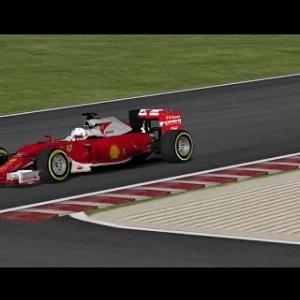 F1 2016 rFactor Ferrari SF16-H (Mod F1VF2016) Sebastian Vettel @ Magny Cours