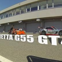 GINETTA G55 GT4 - SLOVAKIA RING /// Hotlap On Worn Hard Tires (2:18.218)