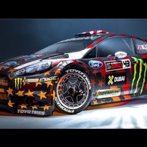 [HOONIGAN] Ken Block's Gymkhana EIGHT livery presented by Toyo Tires