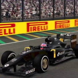 F1 2016 MOD Gameplay - Renault RS16 Test Livery - ☆NEW!!☆ MickeyMoTiOnZ