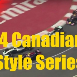 F1 2014 Canadian Grand Prix TV Style